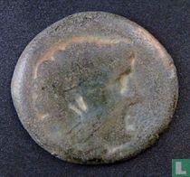 Romeinse Rijk, AE20, 49-48 BC, Pompeius de Grote, Pompeiopolis, Cilicië, 60-27 BC