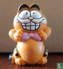 Garfield strikt roze strik