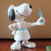 Snoopy als verpleegster