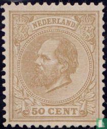 Koning Willem III (K 12½ grote gaten)