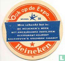 Ook op de expo... Men schenkt het in:  / Heineken's Bier