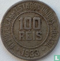 Brasilien 100 Réis 1933