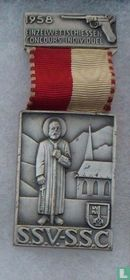Switzerland  S.S.V. - S.S.C.  Shooting medal  1958