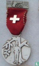 Switzerland  S.S.V. - S.S.C.  Shooting medal  1964