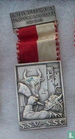 Switzerland  S.S.V. - S.S.C.  Shooting medal  1956
