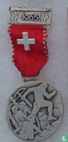 Switzerland  S.S.V. - S.S.C.  Shooting medal  1965