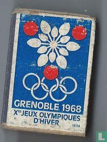 Grenoble 1968 X eme Jeux olympiques d'hiver
