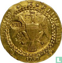 United States Brasher Doubloon (EB on eagle's wing) 1787