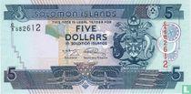 Salomonseilanden 5 Dollars