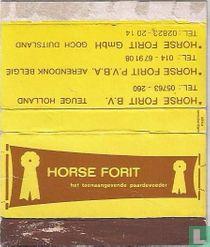 Horse Forit BV - het toonaangevende paardenvoeder
