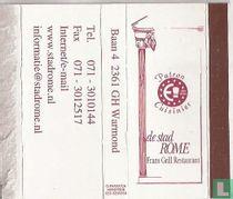 De Stad Rome - Frans grillrestaurant