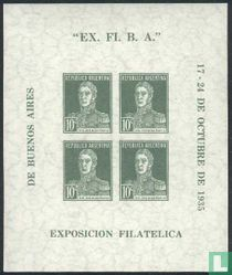 Filatelie tentoonstelling Buenos Aires