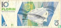 Aruba 10 Florin 1993