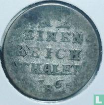 Pruisen 1/12 thaler 1764 (B)