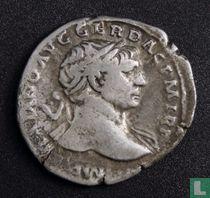 Romeinse Rijk, AR Denarius, 98-117 AD, Trajanus, Rome, 106AD