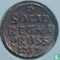 Pruisen 1 schilling 1737