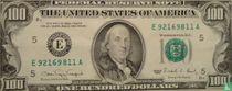 Verenigde Staten 100 Dollar 1990 (E)