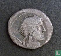 Romeinse Republiek, AR Denarius, 82 BC, gens Crepusia, Rome