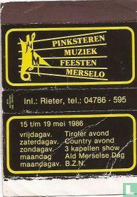 Pinksteren Muziekfeesten Merselo