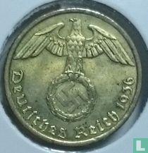 Duitse Rijk 5 reichspfennig 1936 (hakenkruis - A)