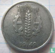 DDR 5 pfennig 1949