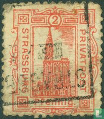 Hoofdkerk van Strassburg (pfennig)