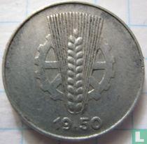 DDR 5 pfennig 1950