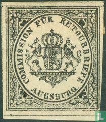 Retourzegels Augsburg - Wapen