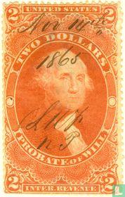 George Washington (robate of Will) 2 $