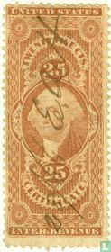George Washington (Certificate) 25 c