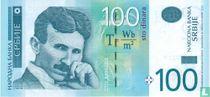 Servië 100 Dinara 2013
