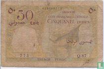 50 Djibouti francs