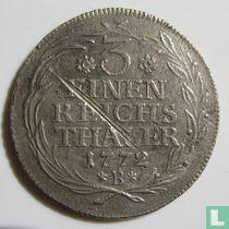 Pruisen 1/3 thaler 1772 (B)