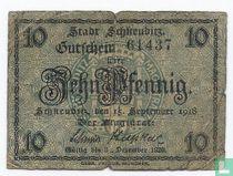 Germany Stadt Schkeuditz 10 pfennig