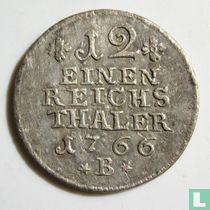 Pruisen 1/12 reichsthaler 1766 (B)