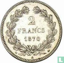 France 2 francs 1870 (Ceres - A - without legend)