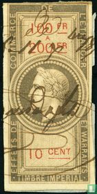 Douanes - Napoleon III (10 C) (100-200)