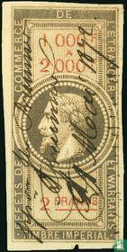 Douanes - Napoleon III (2F) (1000-2000)