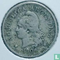 Argentinië 10 centavos 1906