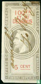Douanes - Napoleon III (5 C) (100 en minder)