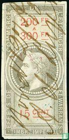 Douanes - Napoleon III (15 C) (200-300)