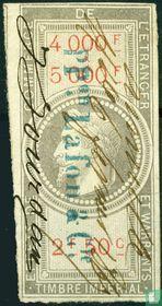 Douanes - Napoleon III (2F50) (4000-5000)