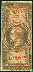 Douanes - Napoleon III (6F) (11000-12000)