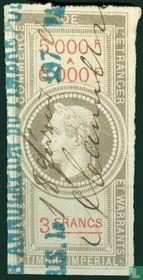 Douanes - Napoleon III (3F) (5000-6000)