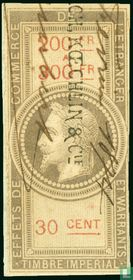 Douanes - Napoleon III (30 C) (200-300)