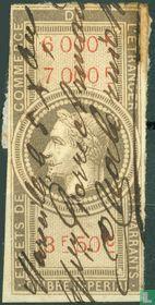 Douanes - Napoleon III (3F50) (5000-6000)
