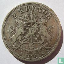 Zweden 2 kronor 1890