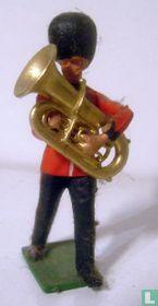 The Guards Dubble Bass Horn