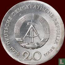 "DDR 20 mark 1972 ""500th anniversary Birth of Lucas Cranach"""