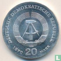 """DDR 20 mark 1970 """"150th anniversary Birth of Friedrich Engels"""""""